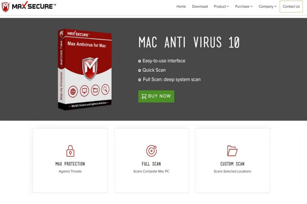 Max Secure Anti Virus Mac