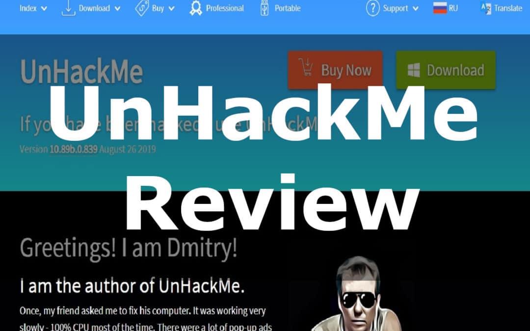 UnHackMe Review