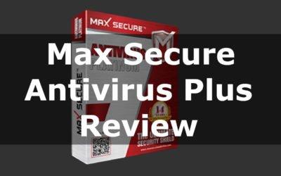Max Secure Antivirus Plus Review