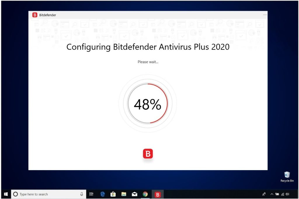 Bitdefender Antivirus Plus Installation Configuring