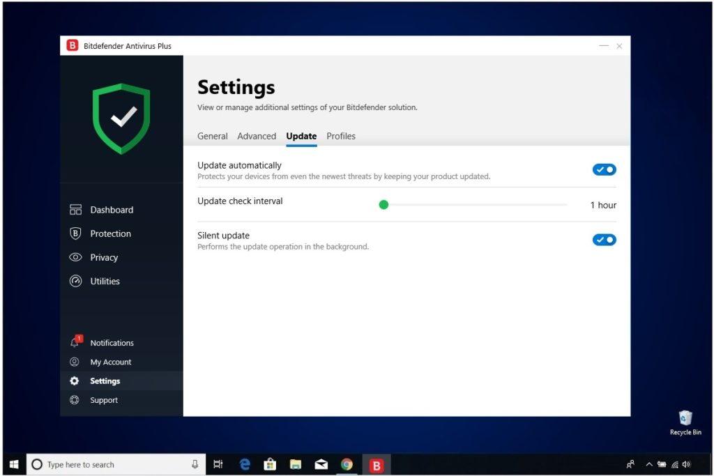 Bitdefender Antivirus Plus Review Settings Update