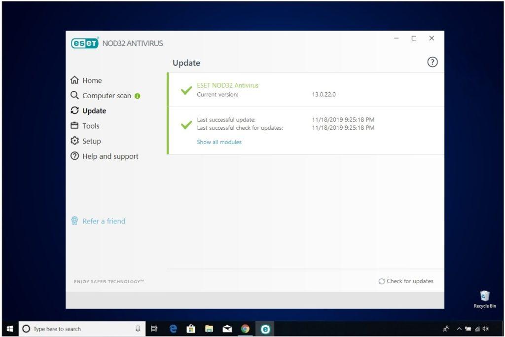 ESET NOD32 Antivirus Review Update