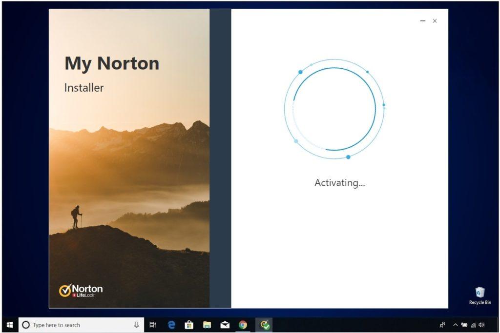 Norton Antivirus Plus Installation My Norton Activating