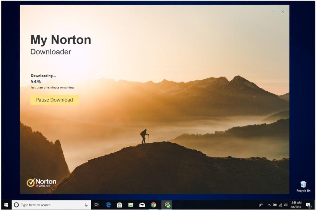 Norton Antivirus Plus Installation My Norton Downloader