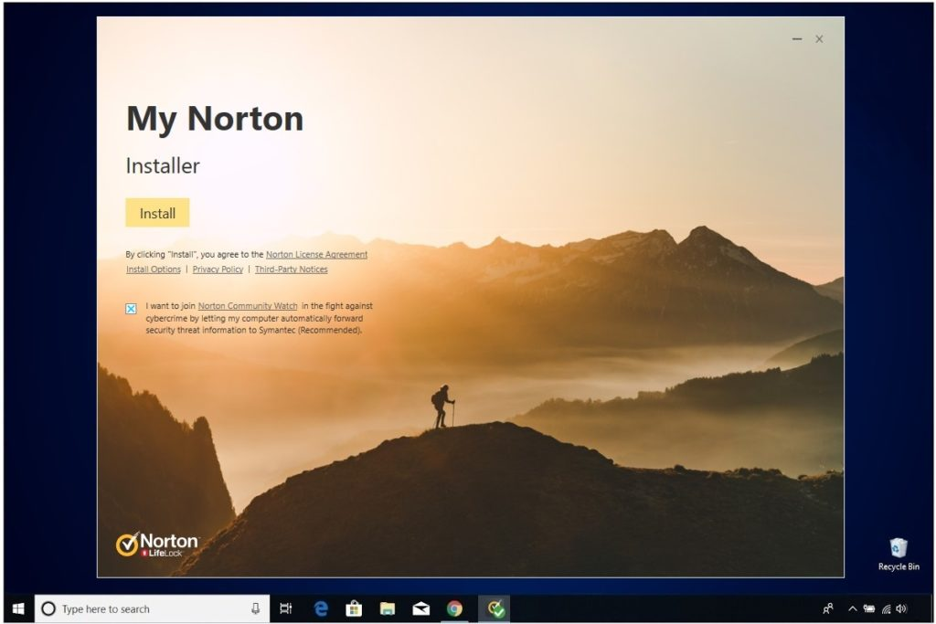 Norton Antivirus Plus Installation My Norton Installer