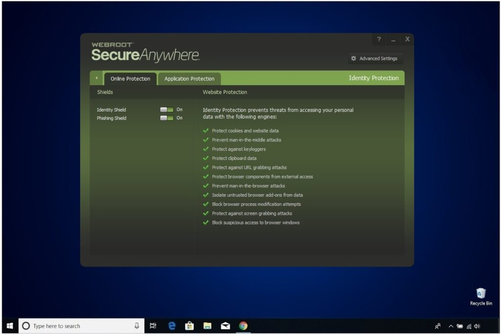 Webroot Internet Security Plus Review Identity Protection Online Protection
