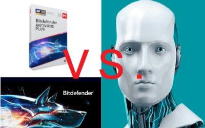 Bitdefender Antivirus Plus VS. ESET NOD32 Antivirus