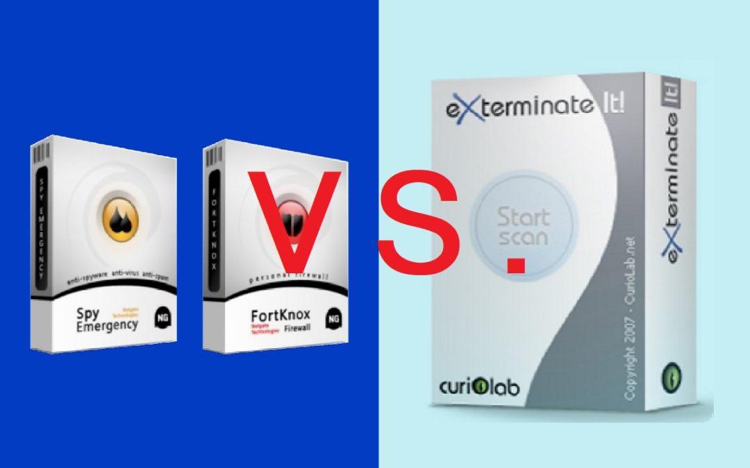 NETGATE Internet Security VS Exterminate It!