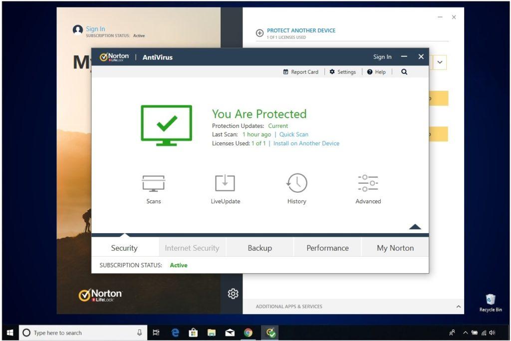 Norton Antivirus Plus Liveupdate