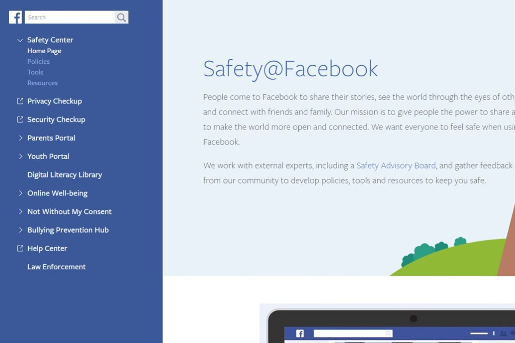 Facebook Privacy Settings Safety Center